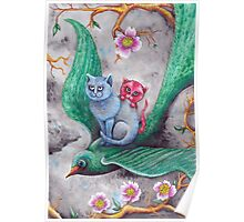 Tea cup kittens adventure Poster