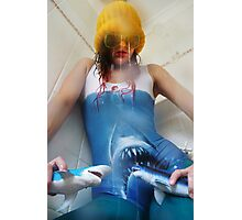 Psycho Jaws Photographic Print