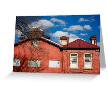 Country Home, NSW, Australia Greeting Card
