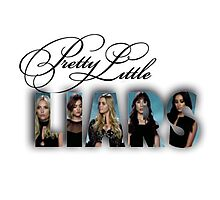 Pretty Little Liars Photographic Print