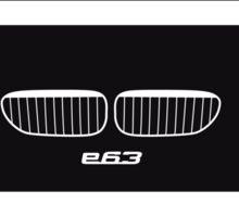6 Heritage (E24, E63, F13) Sticker
