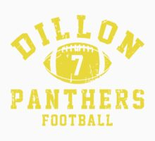Dillon Panthers Football - 7 Blue Kids Clothes
