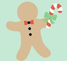 Gingerbread man #4 by simplepaperplan