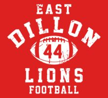 East Dillon Lions Football - 44 Red T-Shirt