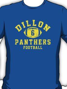 Dillon Panthers Football - 6 Blue T-Shirt