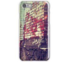 Portland Brick Wall iPhone Case/Skin