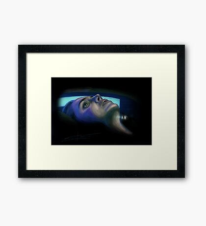 Imprint  Framed Print