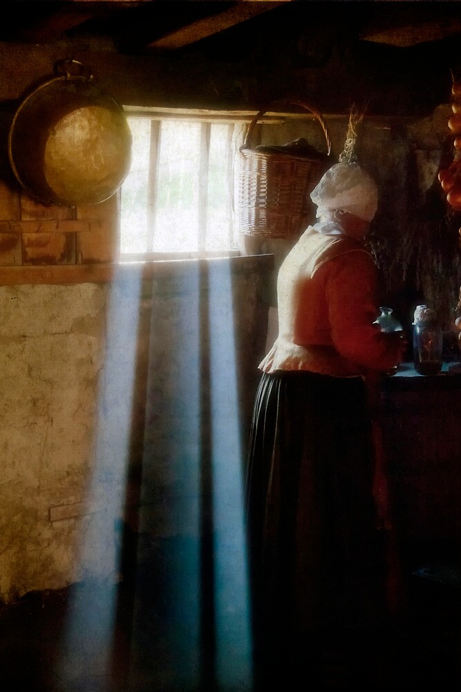 Woman With Bottles by TeresaB
