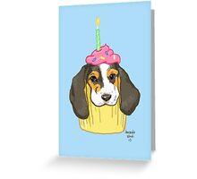 Pupcake Greeting Card