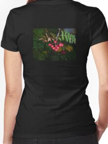 Red Berries Women's Fitted V-Neck T-Shirt