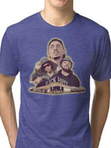Black Hippy design  Tri-blend T-Shirt
