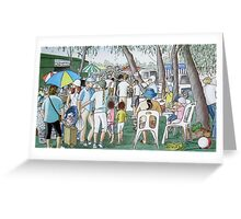The South side of Seymour Market - Spring is in the Air. Greeting Card