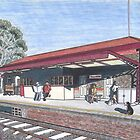 The Tallarook Railway Station by widdy