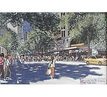 Paris on Collins St. Melbourne Photographic Print
