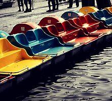 Paddle Boats by Briana McNair