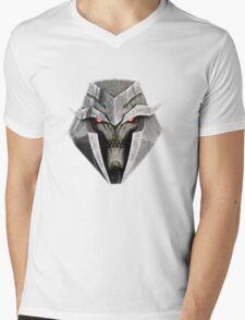 Megatron: Transformers Prime Mens V-Neck T-Shirt
