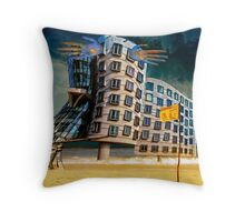 Bates Motel by the Sea. Throw Pillow