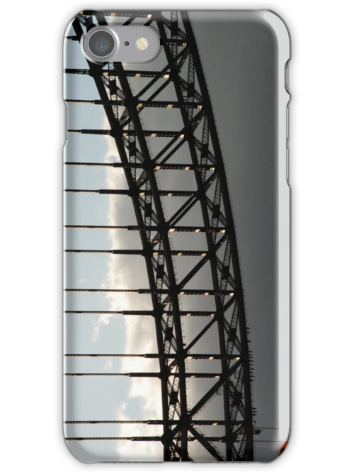 harbour bridge iphone/samsung galaxy cover by mellychan