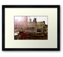 Never forget a facade Framed Print