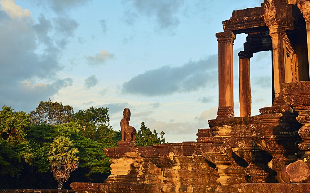 Angkor Wat 's Glory  by Brian Bo Mei