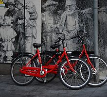 Amsterdam, High Power Art and Bicycles by Peter Kurdulija