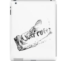 Crumpled gum package drawing iPad Case/Skin