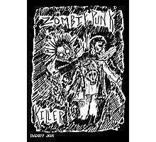 Zombie Punk Killer Photographic Print