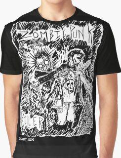 Zombie Punk Killer Graphic T-Shirt