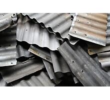 Scrap Metal Photographic Print