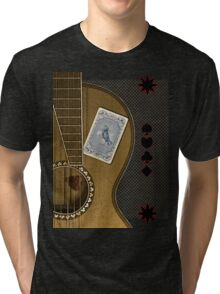 luck of the draw  Tri-blend T-Shirt