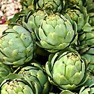 French artichokes by Millie Brown