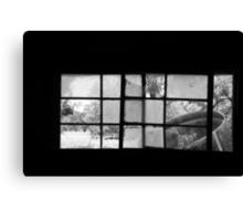 Looking Through Yesterdays Window Canvas Print