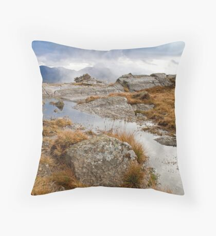 Langdale view Throw Pillow