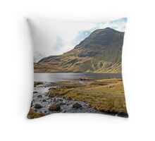 Stickle Tarn, Lake District Throw Pillow