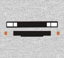 T3 (Caravelle, Microbus) grill and headlights simplistic design version 2 One Piece - Long Sleeve
