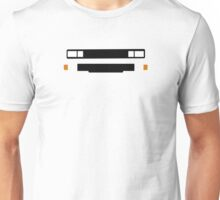 T3 (Caravelle, Microbus) grill and headlights simplistic design version 2 Unisex T-Shirt