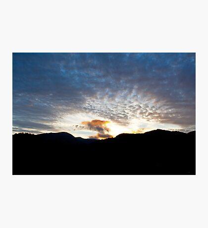 Langdale sunset Photographic Print