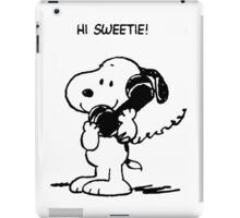 Hi sweetie! iPad Case/Skin