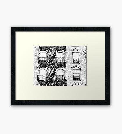 Cast Iron Framed Print
