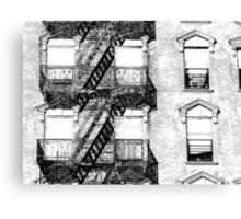 Cast Iron Canvas Print