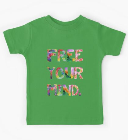 Free Your Mind Kids Tee