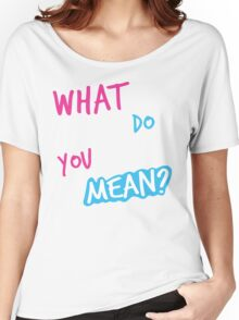 Justin Bieber What Do You Mean Women's Relaxed Fit T-Shirt