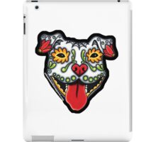 RASTA PIT BULL FLOPPY EARS iPad Case/Skin