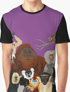 I Am Thankful For Primates Graphic T-Shirt