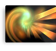 Photon Rays Metal Print