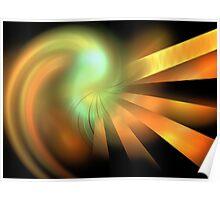 Photon Rays Poster