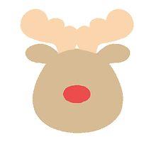 Rudolph the Red Nosed Reindeer #1  by simplepaperplan