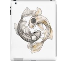 Ying and Yang Koi iPad Case/Skin