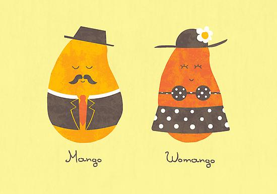 Fruit Genders by Teo Zirinis
