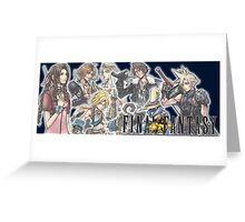 Final Fantasy Group Greeting Card